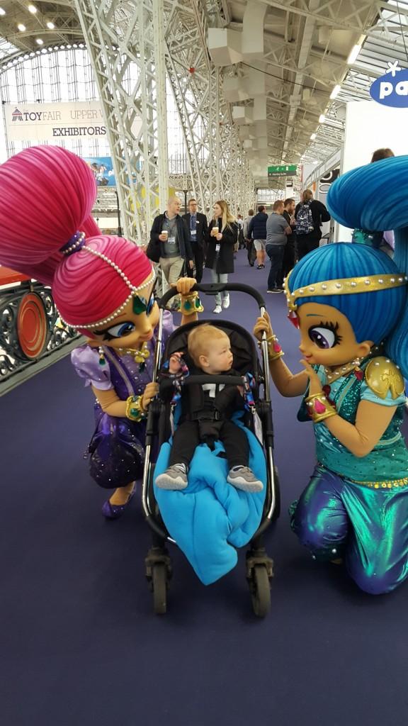 Toy Fair Barney