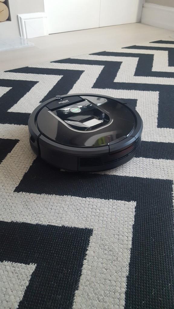 Roomba rug